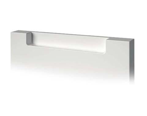 Tirador ergonómico para puertas de laca de cocina baño hogar armario uñero cairo