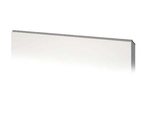 Tirador en cuña de aluminio ergonómico para cocina con gola