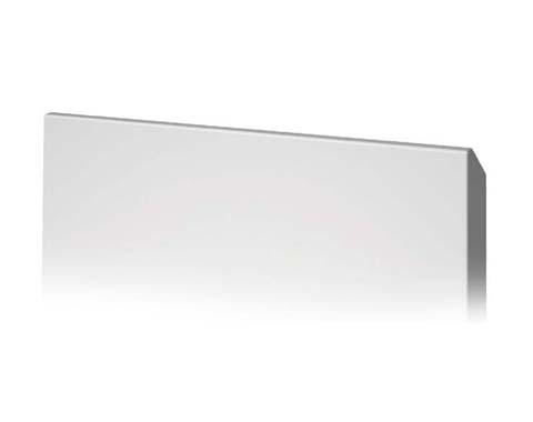 Tirador mecanizado en cuña para puertas de laca de cocina baño hogar armario
