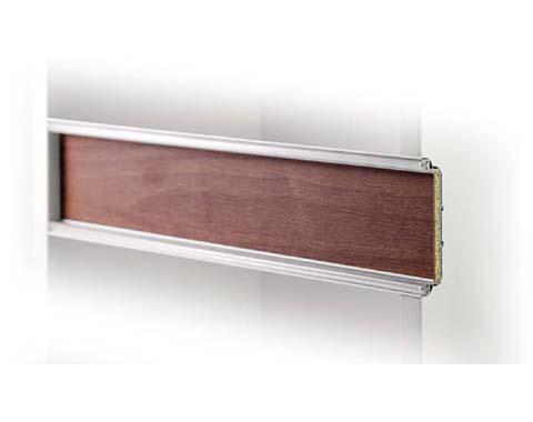 Gola encamisable para muebles de cocina posible cambiar material y color