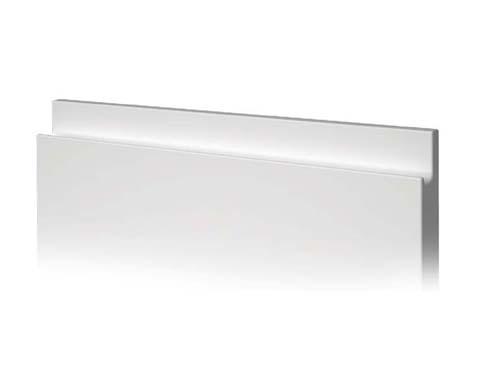 Tirador ergonómico para puertas de laca de cocina baño hogar armario uñero tokio
