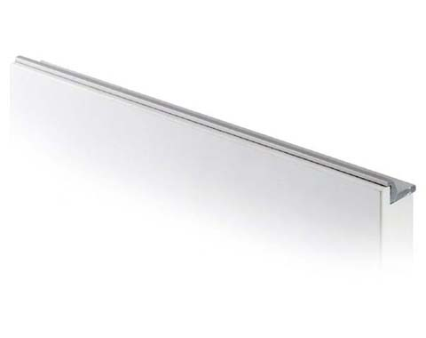 Tirador de aluminio ergonómico para cocina con gola