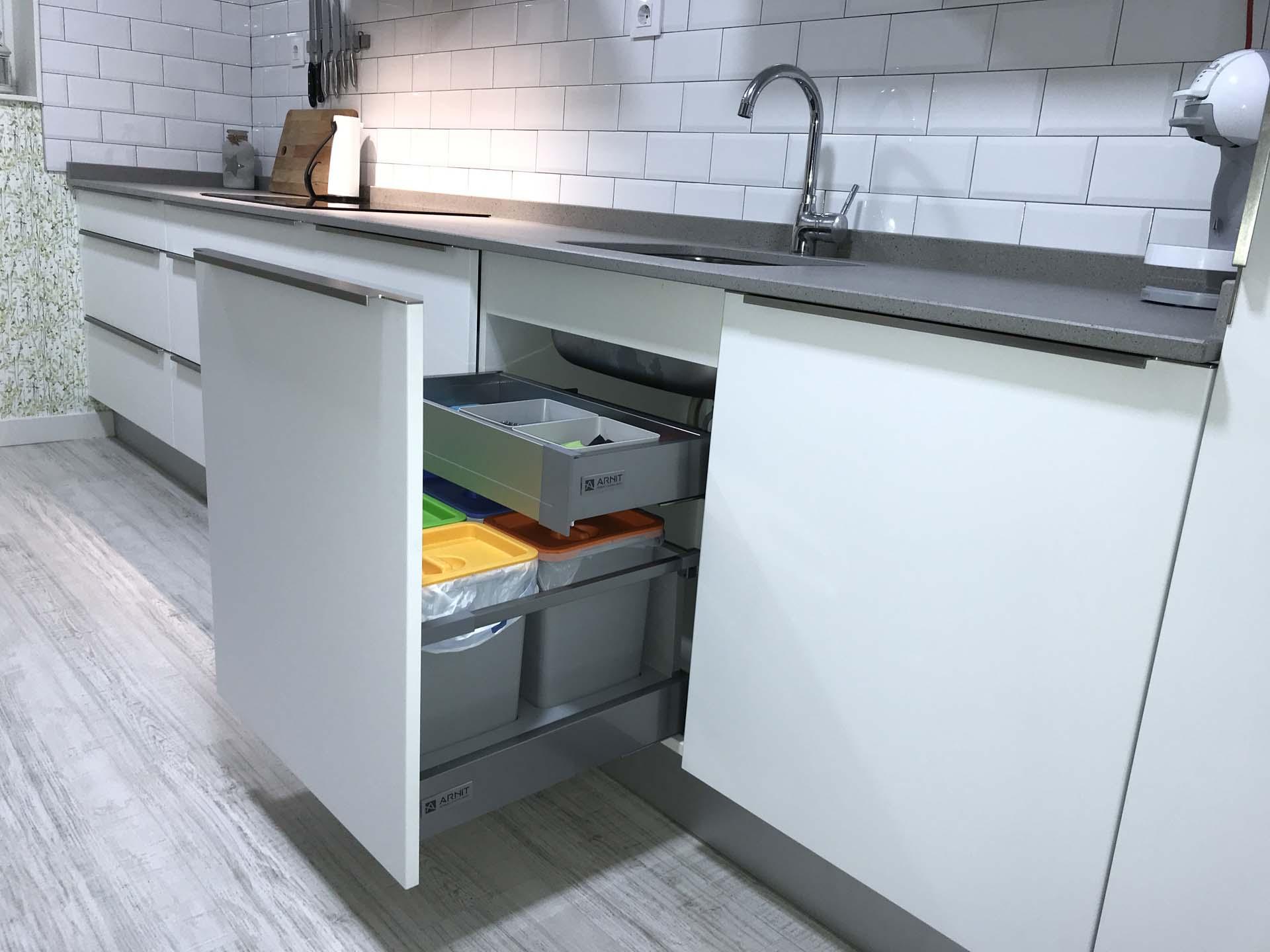 cocina extraible fregadero