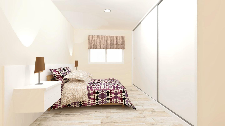 diseño dormitorio habitacion medida