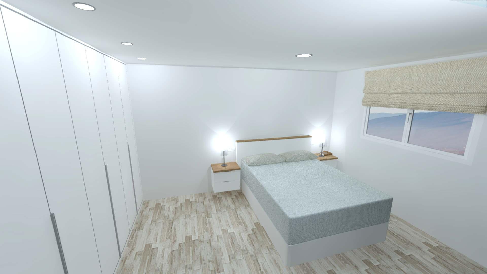Dormitorio completo habitaci n de matrimonio arnit for Dormitorio completo