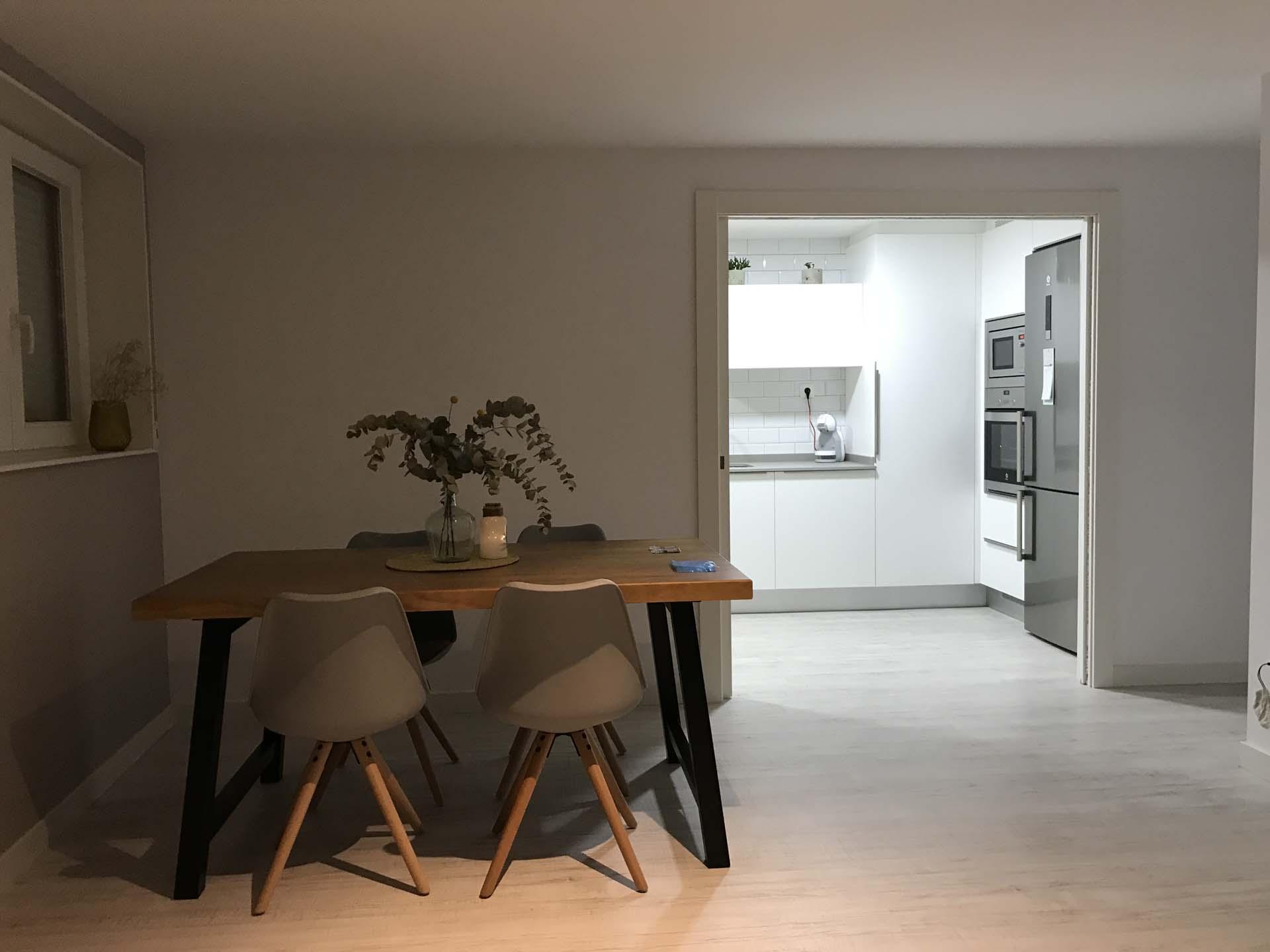 entrada cocina contemporanea