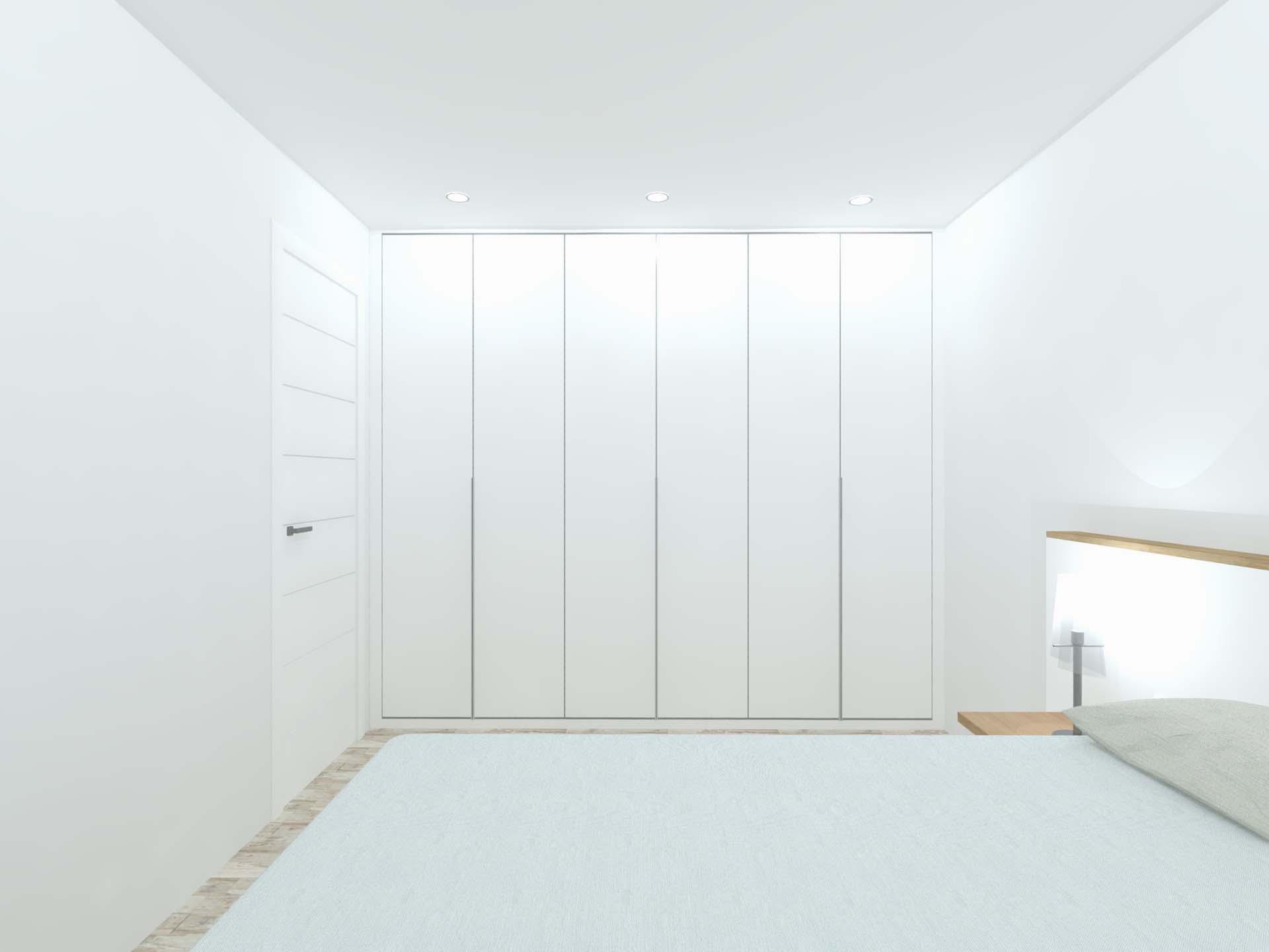 habitacion dormitorio armario a86