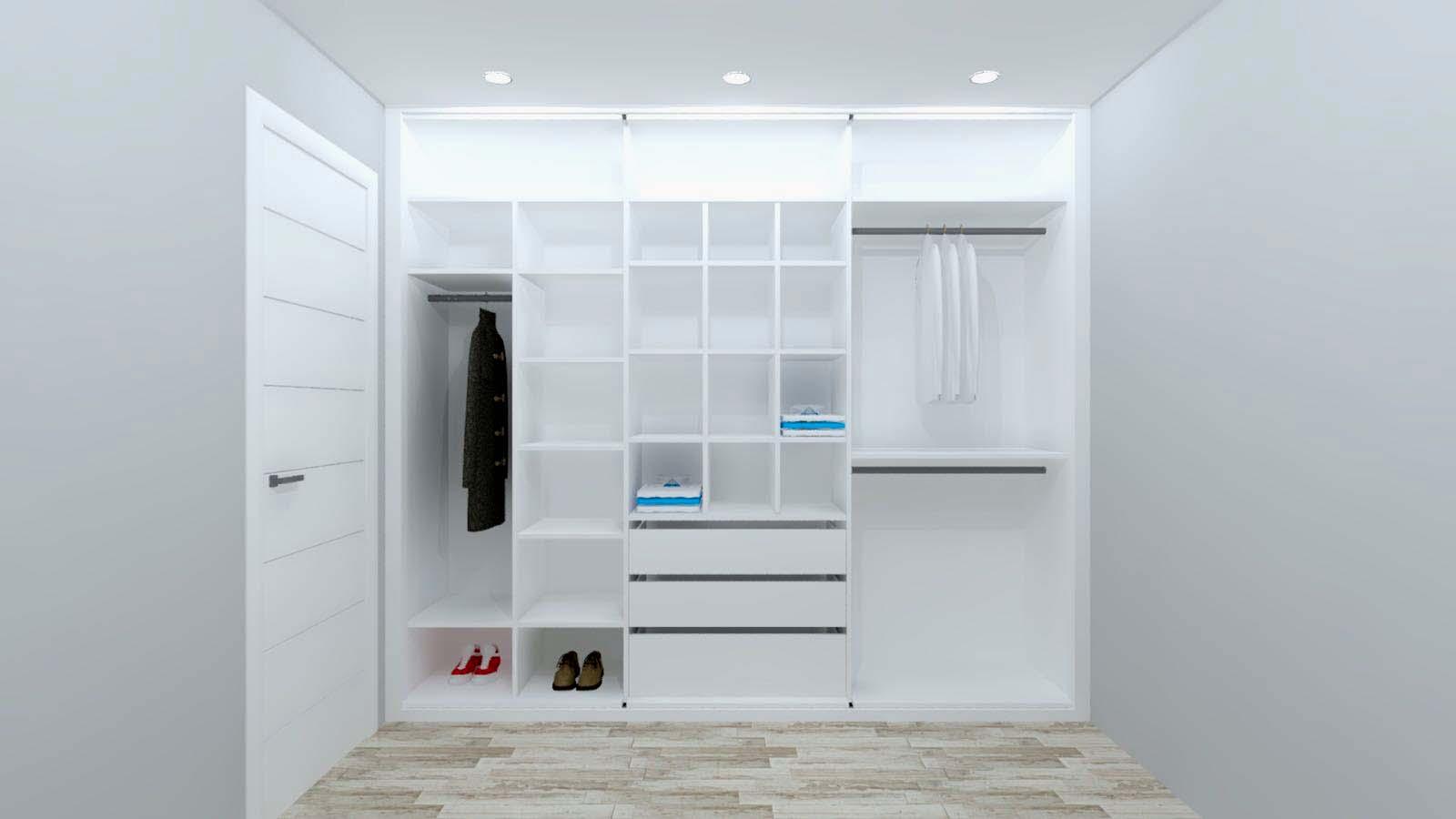 interior armario dormitorio