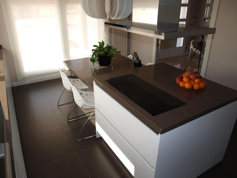 isla cocina diseño moderno