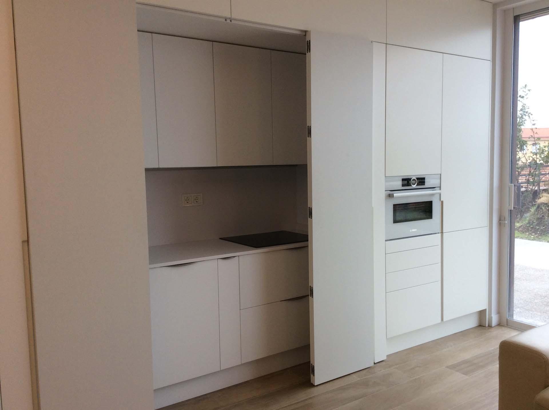 Puertas cocina escamoteable plegadas arnit - Puertas plegables cocina ...