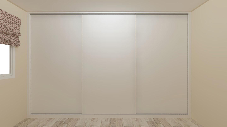 puertas correderas armario minimalista